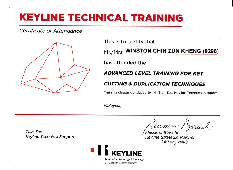 Keyline Technical Training